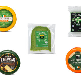 mkgalleryamp; Wine: Aldi Debuts Green and Alcohol-Infused Cheeses For St. Patrick's Day