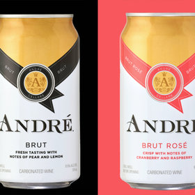 Food & Wine: At Last, André Champagne Comes In Cans