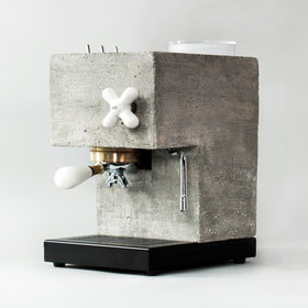 Food & Wine: This Concrete Espresso Maker Is the Coolest Looking Kitchen Appliance You Can Almost Buy