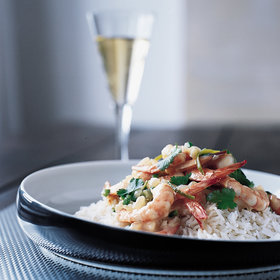 Food & Wine: Asian Coconut-Milk Shrimp