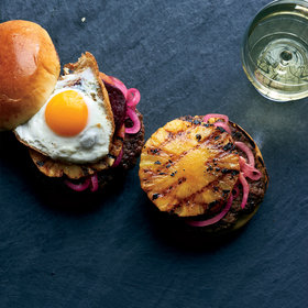 Food & Wine: Aussie Burgers with Pickled Beets, Pineapple and Fried Eggs