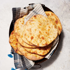Food & Wine: Bacon-Chile Naan