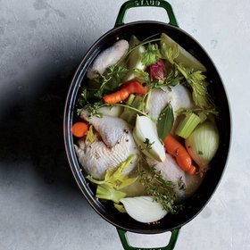 Food & Wine: Basic Chicken Stock