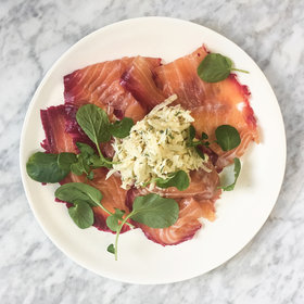 Food & Wine: Beet-and-Vodka-Cured Gravlax