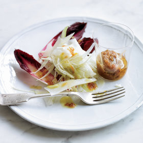 Food & Wine: Red Endive & Fennel Salad with Anchovy-Date Dressing