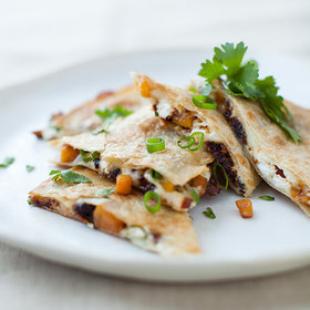 Food & Wine: Butternut Squash, Sun-Dried Tomato, and Goat Cheese Quesadillas