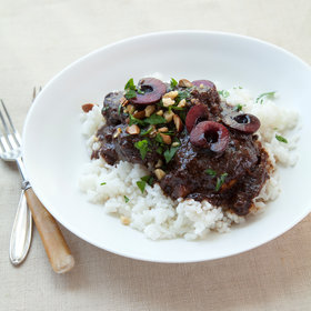 Food & Wine: Cherry-Almond Braised Chicken
