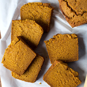 Food & Wine: Gluten-Free Pumpkin Bread
