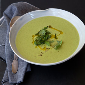 Food & Wine: Lemony Coconut and Broccoli Soup