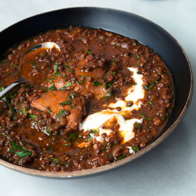 Food & Wine: Slow Cooker Ethiopian-Spiced Chicken and Black Lentil Stew