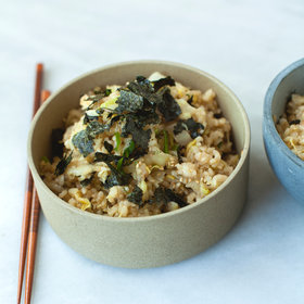 Food & Wine: Stir-Fried Brown Rice and Cabbage with Toasted Nori