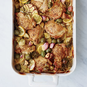 Food & Wine: Braised Chicken 