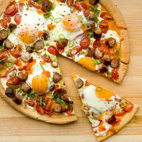 Food & Wine: Breakfast Pizza