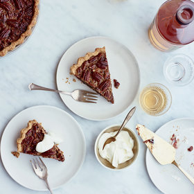 Food & Wine: Brown Butter Pecan Pie with Espresso Dates