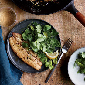 Food & Wine: Brown Butter Sole 