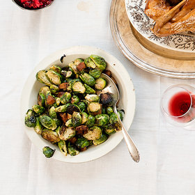 mkgalleryamp; Wine: Brussels Sprouts with Bacon