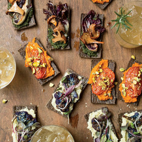 Food & Wine: Buckwheat Flatbreads