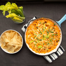 Food & Wine: Buffalo Chicken Dip
