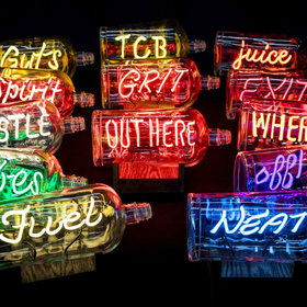 Food & Wine: Bulleit Whiskey Offering $1,000 Neon Art Bottles in Time for the Holidays