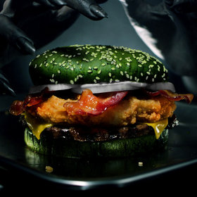 mkgalleryamp; Wine: Burger King Says Its Halloween Burger Causes Actual Nightmares