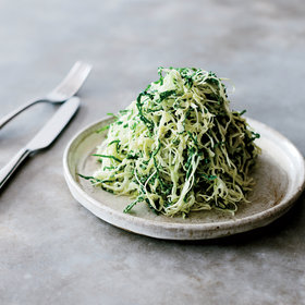 Food & Wine: Cabbage-and-Kale Slaw with Toasted Yeast Dressing