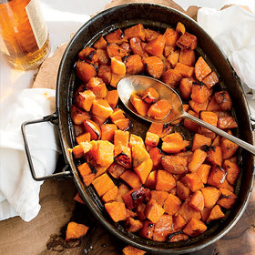 Food & Wine: Candied Sweet Potatoes with Bourbon