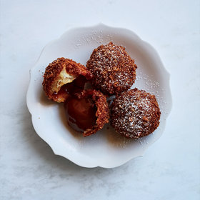"Food & Wine: Caramel ""Falafel"""