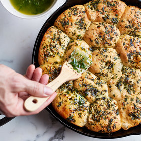 Food & Wine: Caraway Rolls with Garlic-Parsley Butter