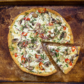 mkgalleryamp; Wine: Cauliflower-Crust Pizza