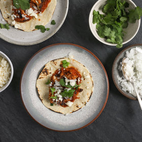 mkgalleryamp; Wine: Cauliflower Tinga Tacos