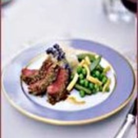 Food & Wine: Sunflower Seed-Crusted Lamb Loin