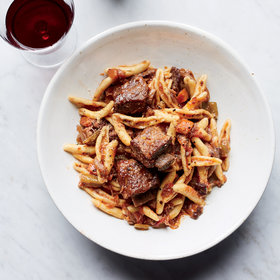 mkgalleryamp; Wine: Cavatelli with Sparerib Ragù