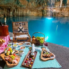 Food & Wine: You Can Dine 60 Feet Underground in This Otherworldly Cenote in Mexico