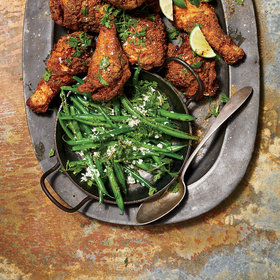 Food & Wine: Charred Coconut Green Beans