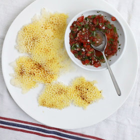 Food & Wine: Cheddar Fricos with Salsa Fresca