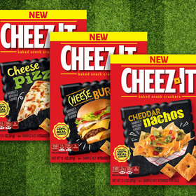 Food & Wine: Cheez-It Wants You to Choose Its Best Football-Themed Flavor