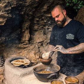 Food & Wine: This Chef's Whole Body Is Covered in Taco-Related Tattoos