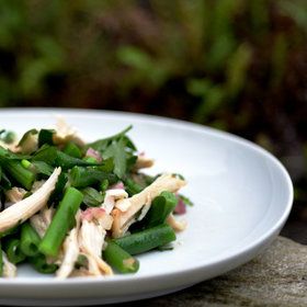 Food & Wine: Chicken and Green Bean Salad