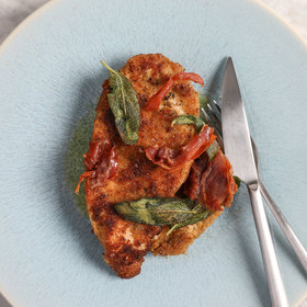 Food & Wine: Chicken Cutlets with Prosciutto and Sage