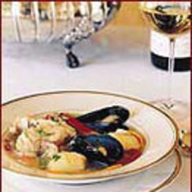 mkgalleryamp; Wine: Chilean Seafood Soup