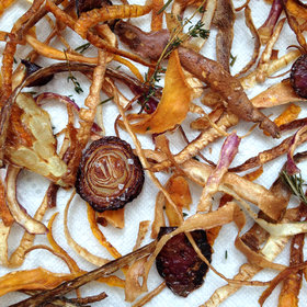 Food & Wine: How to Make No-Waste Veggie Chips