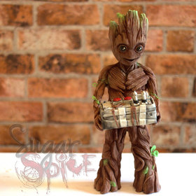 Food & Wine: This Chocolate Baby Groot May Be Too Cute to Eat