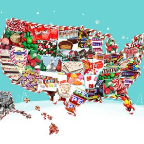 Food & Wine: Here's the Top-Selling Christmas Candy in Each State