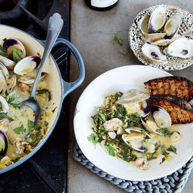 Food & Wine: Clam-and-Oyster Pan Roast