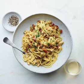 Food & Wine: Clams Carbonara