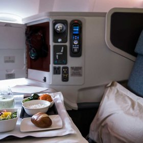 Food & Wine: These First Class Fliers Want You to Know What You're Missing Out on Back There in Coach