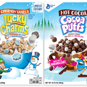 Food & Wine: 'Hot Cocoa' Cocoa Puffs and 'Cinnamon Vanilla' Lucky Charms Are Wintery Versions of Your Favorite Cereals