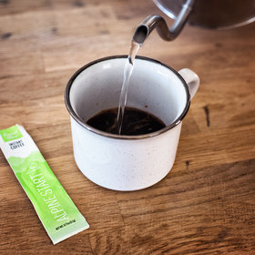 mkgalleryamp; Wine: The $9 Instant Coffee Inspired by Waking Up Suspended 1,000 Feet Over a Cliff