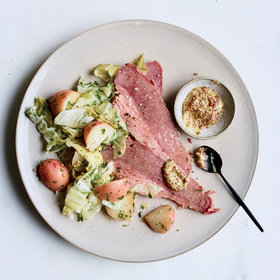 Food & Wine: Corned Beef with Pickled Cabbage and Potato Salad