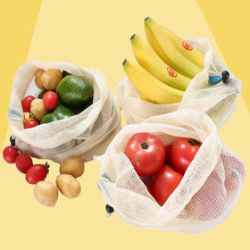 Food & Wine: Forget Single-Use Plastic—You Can Use These Produce Bags Again and Again